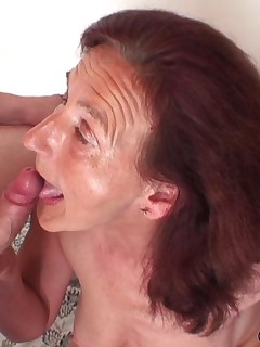 Free granny facial cumshot blowjob happiness has