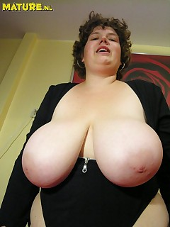 Can Chubby grandma s with big tits something