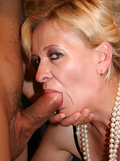 Horny matures