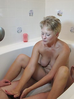 Bath Tub Handjob